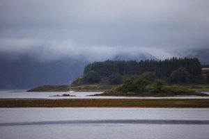 Якорная стоянка у острова Лисмор