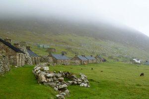 Деревня the Village на острове Хирта